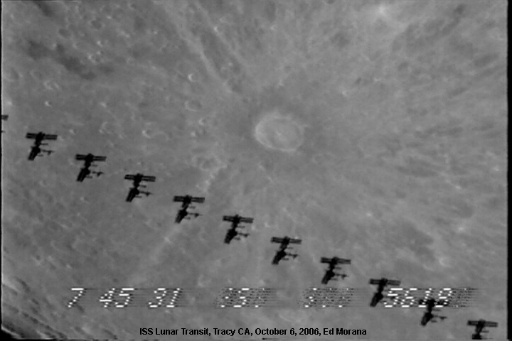 space station lunar transit - photo #30