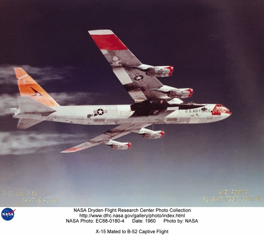 X 15 Speed The X-15 was flown over a